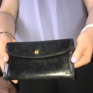 Coach Vintage Long Wallet BLK